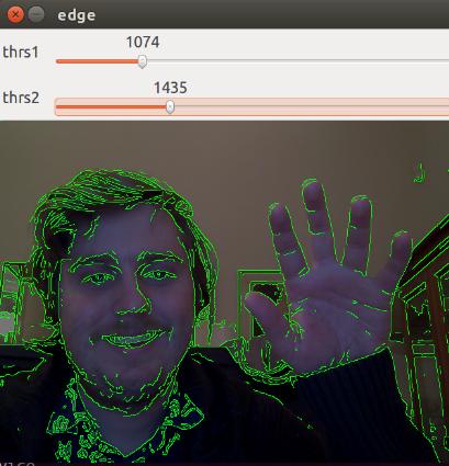 OpenCV Edge Detection