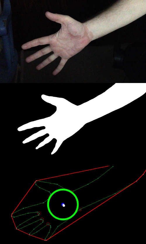 Flat Hand Detect