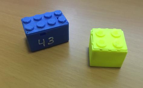 Lego brick sensor